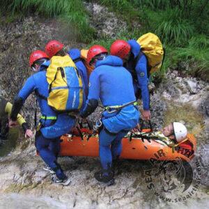 เปลม้วนกู้ภัยอเนกประสงค์ เปลสนาม SKED Stretcher Basic Rescue System Skedco